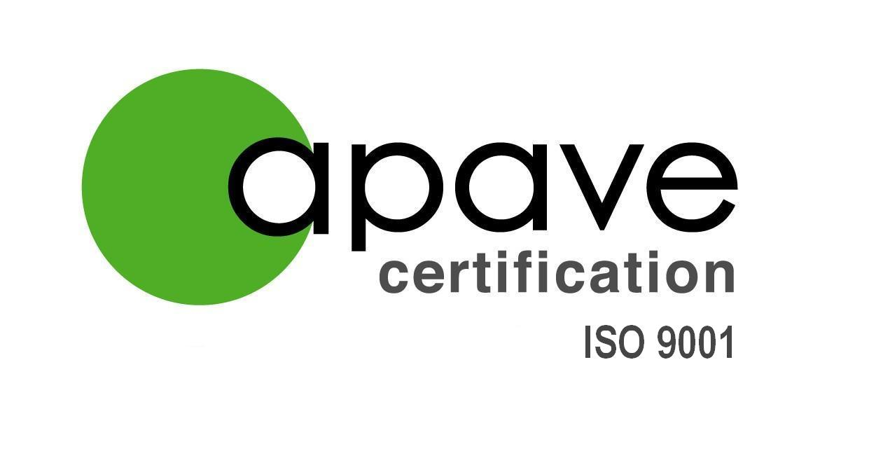apave certification iso 9001