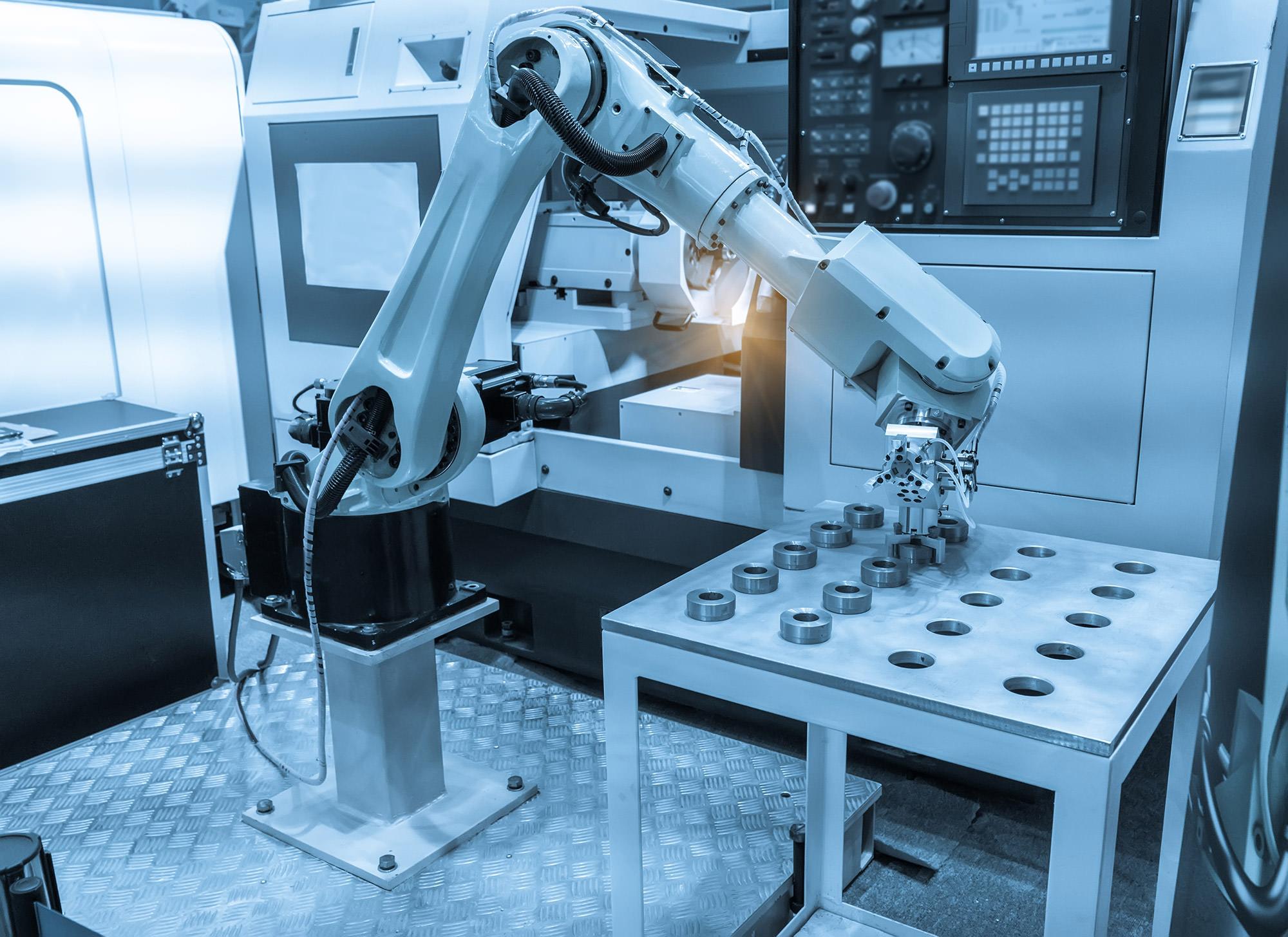Un nouvel atelier de robotique industrielle développé chez ACEREL