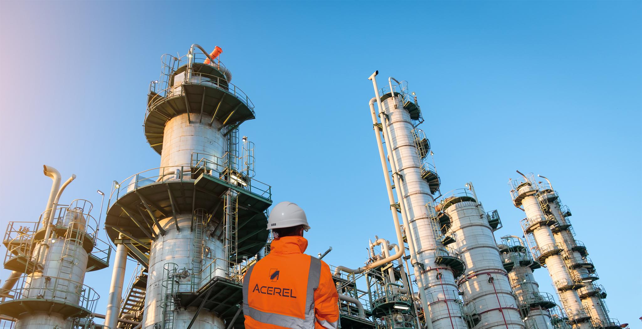Les expertises d'ACEREL optimisées aux industries pétrochimiques, parapétrolières, chimiques et du gaz
